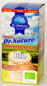 Picture of DR. NATURE Galetes griķu BIO, 110g